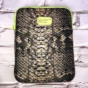 Marc Jacobs python print ipad case